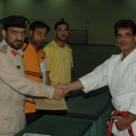 Selbstverteidigungskurs 2008 mit Reinhold Geller beim Dubai Police Department